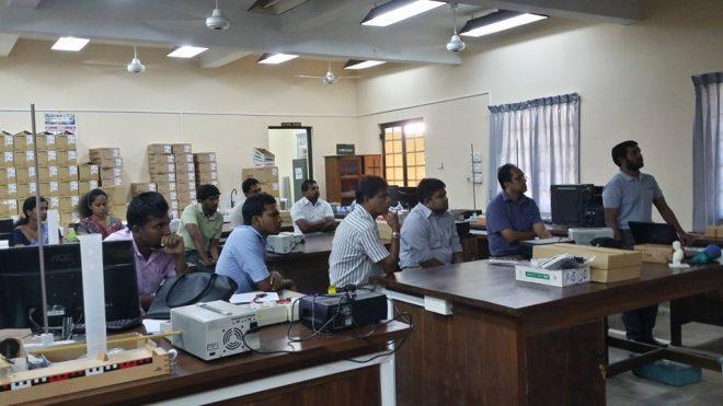 Workshop on 3D printing at University of Ruhuna